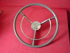 1959 FORD FAIRLANE GALAXIE FULL SIZE FORD  POWER STEERING  WHEEL & HORN RING