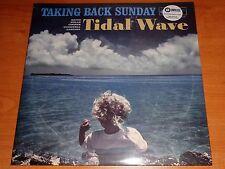 TAKING BACK SUNDAY - TIDAL WAVE - LIMITED BLUE SWIRL COLORED VINYL 2xLP - NEW