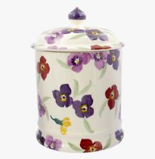 EMMA BRIDGEWATER Wallflower 2 Pint Storage Jar -  BRAND NEW 1st