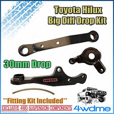 "Toyota Prado 120 Series Front Direct Bolt In BIG Lift Diff Drop Kit 2"" - 4"" Lift"