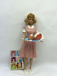 """Vintage 1964 Blonde Midge Doll In #0889 """"Candy Striper"""" Outfit Complete EUC"""