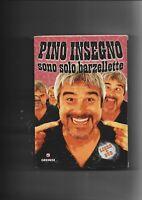 """PINO INSEGNO - """"SONO SOLO BARZELLETET"""" DVD+LIBRO DVD  NUOVO SIGILLATO"""
