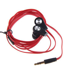 Neu Kopfhörer In Ear Ohrhörer Stereo für Smartphone Mp3 Player Mikrofon Headset