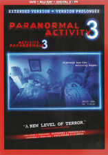 Paranormal Activity 3: Extended Version (DVD + New Blu