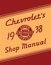 1938 Chevrolet Car & Truck Shop Manual