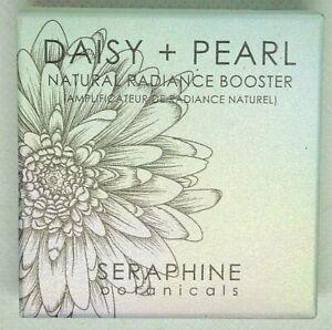 Seraphine Botanicals Daisy + Pearl Natural Radiance Booster 3.5 g / 0.12 oz NIB