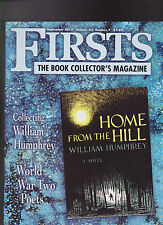 Firsts Book Collectors Magazine September 2013 William Humphrey WWII Poets