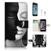 ( For iPhone 6 Plus / iPhone 6S Plus ) Case Cover! P1604 Black White Face