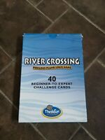 River Crossing Perilous plank logic game. 40 beginner to expert challenge cards.