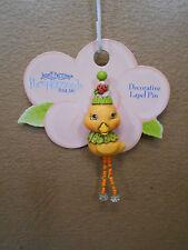Pin Pumpkinseeds Folk Art 4012490 Duck / Green Collar Decorative Lapel