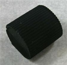 Black Velveteen Ribbed Ridged Barrel Large Small Hinged Ring Jewelry Gift Box