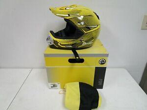 Ski-Doo Xp-2 Pro Cross X-team Dimension Helmet 4477800496 Small Yellow