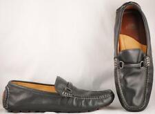 Men's Johnston & Murphy Flex Black Leather Driving Loafers US 12 M
