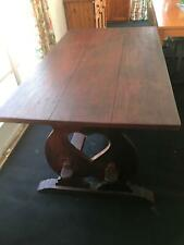 Handcrafted Bench and Table