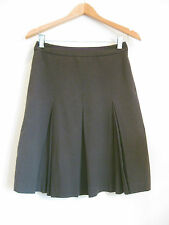 G2OOO Size 6 Dark Brown Casual Pleated Skirt