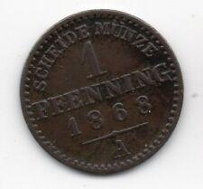 Germany - Preussen / Prussia - 1 Pfennig 1868 A