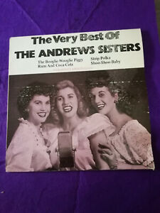 The Andrews Sisters – The Very Best Of  Lp  vinilo  Spain