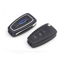 1X Remote Flip FOB Shell Key Case 3 Buttons For Ford Mondeo Focus Fiesta S Max