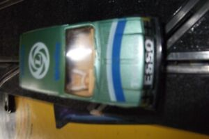 SCALEXTRIC BL METRO CAR WITH NEW REAR TYRES AND NEW BRAIDS