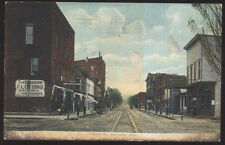 1907 POSTCARD DENNISON OH/OHIO HILL'S CLOTHING & SHOE STORE