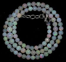 58.00 crt Natural Ethiopian Welo Fire Opal Round Balls Beads Inch 17.00 (106)