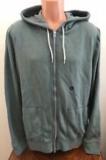 Abercrombie & Fitch Mens Hoodie Full Zip Sweatshirt Jacket Green Size X-Large XL