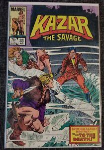 Ka-zar the Savage #33, Marvel Comics 1984