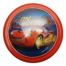 Two (2) NEW DISNEY PIXAR CARS Lightning McQueen Push/Tap Night Lights Red/Blue