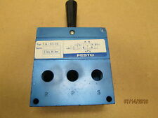 New Other, Festo H-5/3-1/4 Toogle Switch Valve.