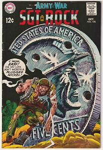 Our Army at War #198 & 199 Nice DC War Comic Book Sgt. Rock Joe Kubert 2 pc Lot
