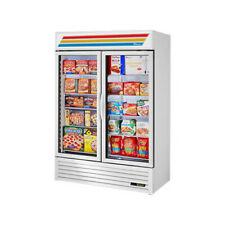"""True Gdm-49F-Hc~Tsl01 54"""" White Glass Door Merchandiser Freezer w/Led Lighting"""