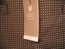 "M&S SILK WAISTCOAT SIZE LARGE chest 41-43"" 104-109cms)BNWT WEDDING CIRCLE DESIGN"