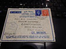 RAF WW2 DESERT CAMPAIGN LETTER FROM F/O GEOFFREY WRIGHT SEA RESCUE FLIGHT 1942 b