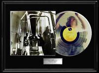 DEPECHE MODE PEOPLE ARE PEOPLE WHITE GOLD SILVER PLATINUM TONE RECORD LP RARE