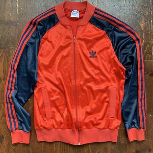 Vintage Adidas ATP Keyrolan Tracksuit Jacket Full Zip Mens Medium USA 80s