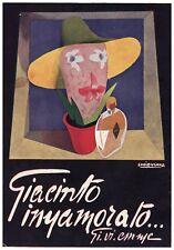 PUBBLICITA' 1930 GI.VI.EMME GIACINTO INNAMORATO PROFUMO FUTURISMO LUCIO VENNA