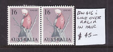 1'6 GALAH  WITH VARIETY LINE OVER RALIA  BW 416i    ***MUH*** IN PAIR