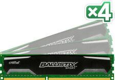 Memoria (RAM) con memoria DDR3 SDRAM de ordenador PC3-12800 (DDR3-1600) 4 módulos