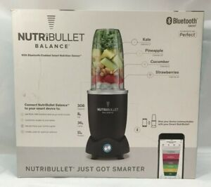 New In Box NutriBullet Balance Bluetooth Enabled Smart Blender
