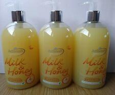 3 X Astonish Milk and Honey Antibacterial Handwash 3 X 500ml Vegan friendly