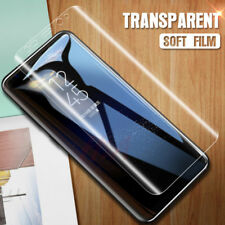 HD FULL COVER Curved Clear PET Screen Protector Film For Samsung Galaxy S9+ Plus