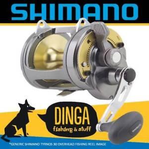 Shimano Tyrnos 30 Overhead Lever Drag Fishing Reel