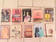 """Lot de 10 livres de la collection """"livre de poche"""""""