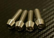 Ducati 1098 1198 Titanium Tapered fork pinch bolts x 4