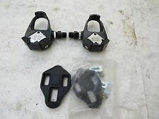 WELLGO CLIPLESS PEDALS RC9101 CLEATS ROAD TOURING FIXIE VELO CLASSIC LOOK