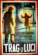 MOB 1951 1SH BRODERICK CRAWFORD BETTY BUEHLER KILEY MEGA RARE EXYU MOVIE POSTER