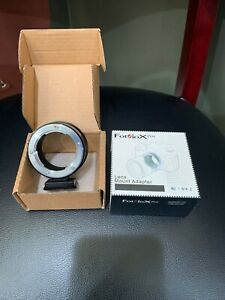 Fotodiox Pro Lens Mount Adapter Minolta Rokkor (SR/MD/MC) to Nikon Z