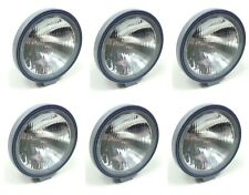 "6x 9"" 24v 70w Bull Nudge Bar Roof Bar Fog Lights Lamps for Mercedes Iveco Ford"