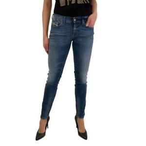 DIESEL Women`s Jeans Size 32 FRANCY Relaxed Skinny Low Waist W32 L34