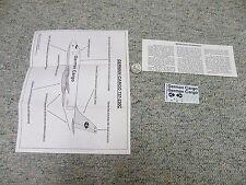 Aerocolours decals 1/144 Sheet#AC403 German Cargo 737-200 Freighter    Box 7